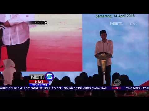 Kunjungan Presiden Jokowi Di Semarang  -NET5