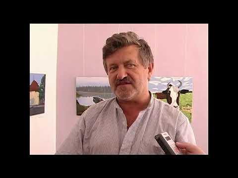 Cюжет о первой выставке Александра Гукалова - YouTube