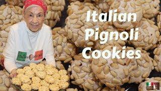 Italian Pignoli Cookies - Baking With Italian MaMa