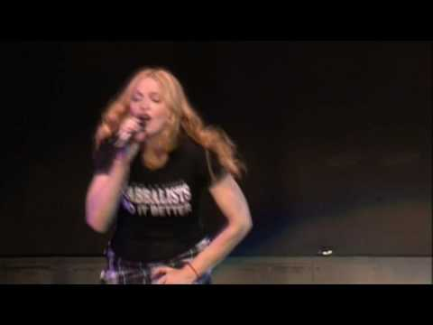 Madonna - Papa Don't Preach [Re-Invention Tour] HD