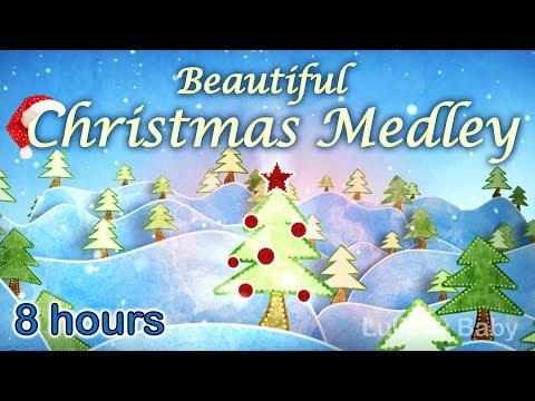 ✰ 8 HOURS ✰ CHRISTMAS MUSIC Instrumental ♫ Christmas Music Playlist ✰ Peaceful Piano Medley ✰