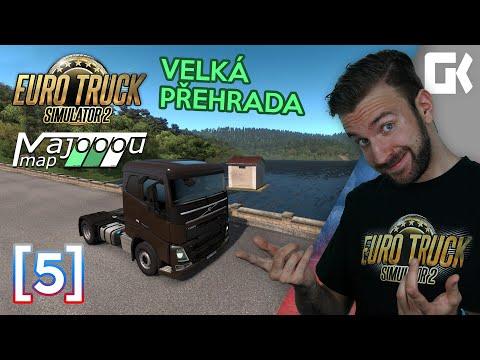 VELKÁ PŘEHRADA | Euro Truck Simulator 2 MajooouMap #05