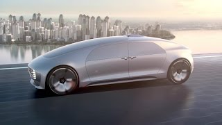 The F 015 Luxury In Motion Future City - Mercedes-Benz Original