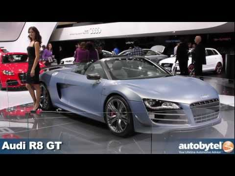 Audi R8 GT Convertible at the 2012 Detroit Auto Show video
