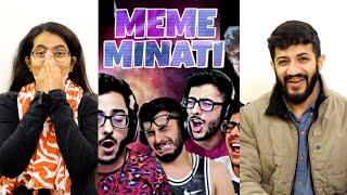 MEME MINATI - THE ULTIMATE CARRYMINATI   REACTION