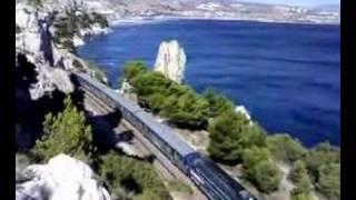 preview picture of video 'Le train de la Côte Bleue'