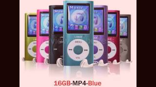 Review Mp3 Player Lonve Blue 16GB  MP4 Music/Audio/Media Player With FM Radio