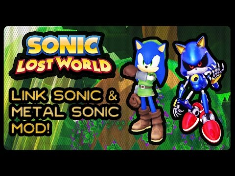 Sonic Lost World (PC) - Zelda Link Sonic Mod + Metal Sonic Mod! (1080p/60fps)