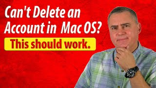 How to Delete an Account on Mac OS