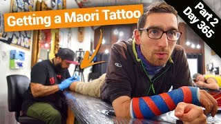 Getting A Maori Tattoo In New Zealand  – New Zealands Biggest Gap Year – BackpackerGuide.NZ