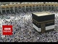 'Groped by Holy Mosque guard during Hajj' in Mecca - BBC News