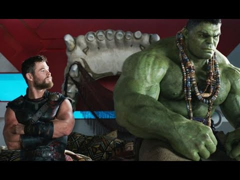 Thor 3: thor and hulk conversation!(hulk without pants)