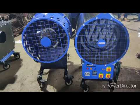Hot Air Blower With Electrical Heating