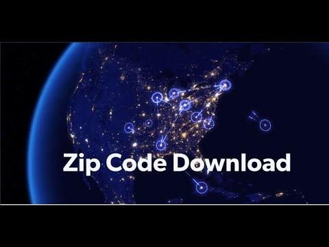 USA Zip Code Download and Canada Postal Code Download