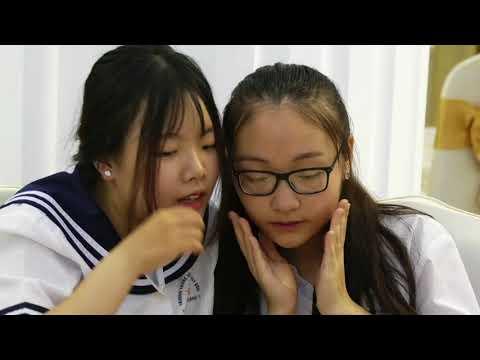 Clip Lễ chia tay ra trường của học sinh khối 9 trường THCS Lê Quý Đôn năm học 2017-2018