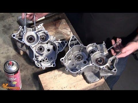 Tuto remplacement des roulements de boite de vitesse sur un moteur de moto 50cc Minarelli AM6