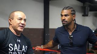 David Haye interview at City Athletic Boxing