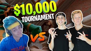 Ninja & KingRichard vs. FaZe Tfue & Cloak - $10,000 Fortnite Tournament | 20 Kill Gameplay