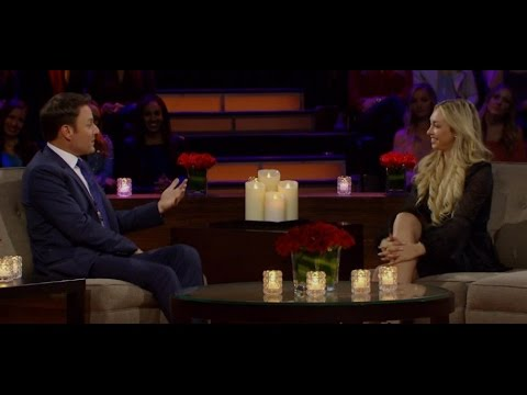 Bachelorette Corinne Olympios in the Hot Seat Part Four