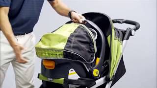 Chicco Tre Stroller - Feature Demonstration