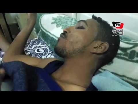 مصابين يروون تفاصيل سقوط حافلة على سيارة نقل بـ«صحراوي بني سويف»