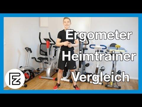 6 Ergometer und Heimtrainer im Test und Vergleich (F-Bike, Christopeit Et 6, AL 2, RS2,..)