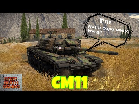 War Thunder: Not a Copy Paste Tank - CM11RB Gameplay