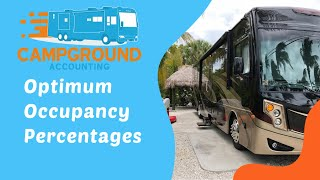 Campground Accounting: Optimum Occupancy Percentages