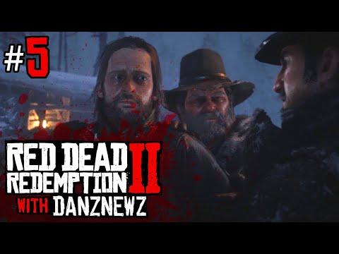 PRISONER | Red Dead Redemption 2 with Danz Newz - Part 5