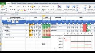 Как управлять проектом в MS Excel (план проекта)
