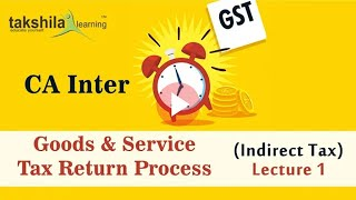 CA Inter GST (Indirect Tax)