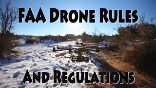 FAA Drone Rules and Regulations