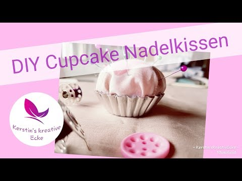 Cupcake Party || Nähanleitung || Nadelkissen || Kerstin's Kreative Ecke