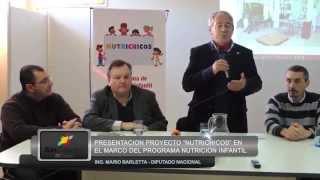 preview picture of video 'San Cristóbal: Mario Barletta presentó el Programa NUTRICHICOS en la ciudad'