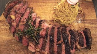 GIANT STEAK & Garlic Noodles in Southern California