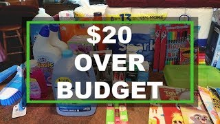 🤑 $220 SUPER SIZE Household Haul | Walmart | Aldi | Dollar Tree