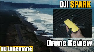 Review Drone DJI Spark | Test DJI Spark - Cinematic Video! HD 1080p