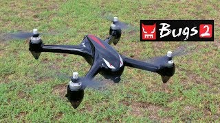 Drone Review - MJX Bugs 2 Brushless GPS Quadcopter