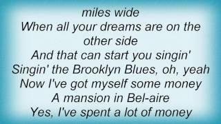 Barry Manilow - Brooklyn Blues Lyrics