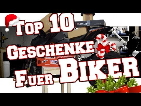TOP 10 Weihnachtgeschenke für Motorradfahrer