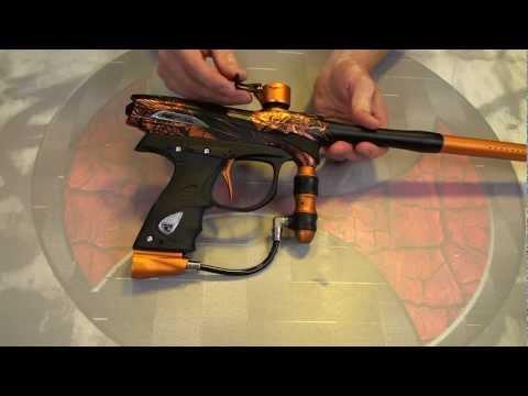 2012 Proto Reflex Rail Tournament Paintball Gun Review, Gun pr0n, Shooting Demo & more