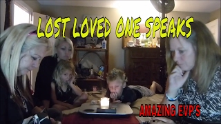 SPIRIT OF LOVED ONE SPEAKS TO ME THE NIGHT OF HIS FUNERAL (ALL CAUGHT ON CAMERA)!!!