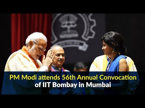 PM Modi attends 56th Annual Convocation of IIT Bombay in Mumbai