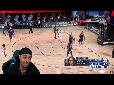 FlightReacts Memphis Grizzlies vs Philadelphia 76ers – Full Game Highlights!