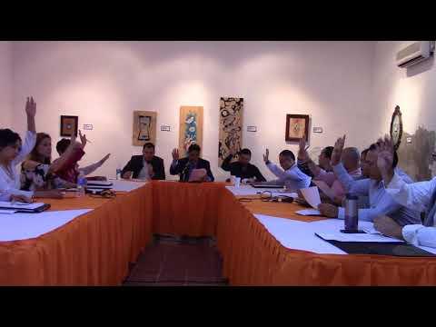 Sesion Ordinaria No.59 de Ayuntamiento 20 de agosto de 2018