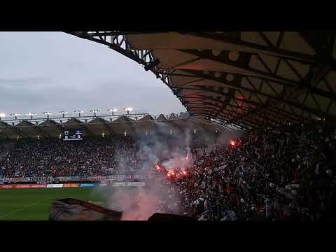 """Entrada Colo-Colo vs Deportes Temuco 2018"" Barra: Garra Blanca • Club: Colo-Colo"