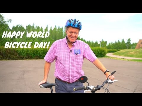 Happy World Bicycle Day!