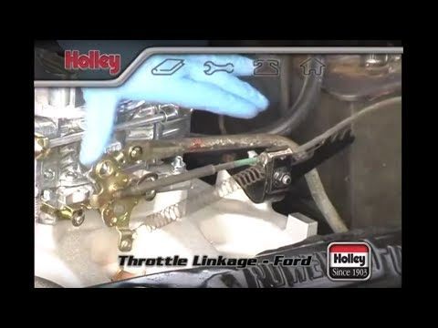 Attaching Ford Throttle Linkage To A Holley Carb
