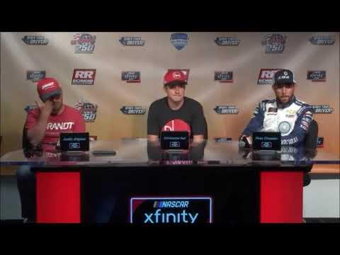 2018 NASCAR Richmond 400 Xfinity Series Playoff Drivers Q&A