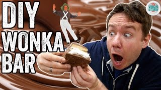 DIY WONKA BAR RECIPE (Whipple Scrumptious Fudgemallow Delight)